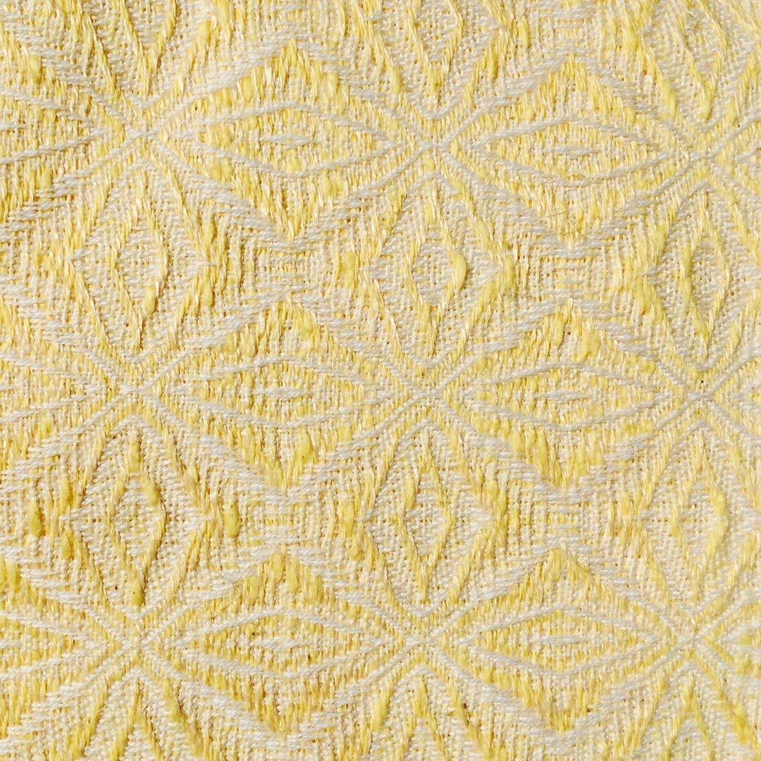 handgewebtes kissen aus halbleinen gelb 40 x 60 cm. Black Bedroom Furniture Sets. Home Design Ideas