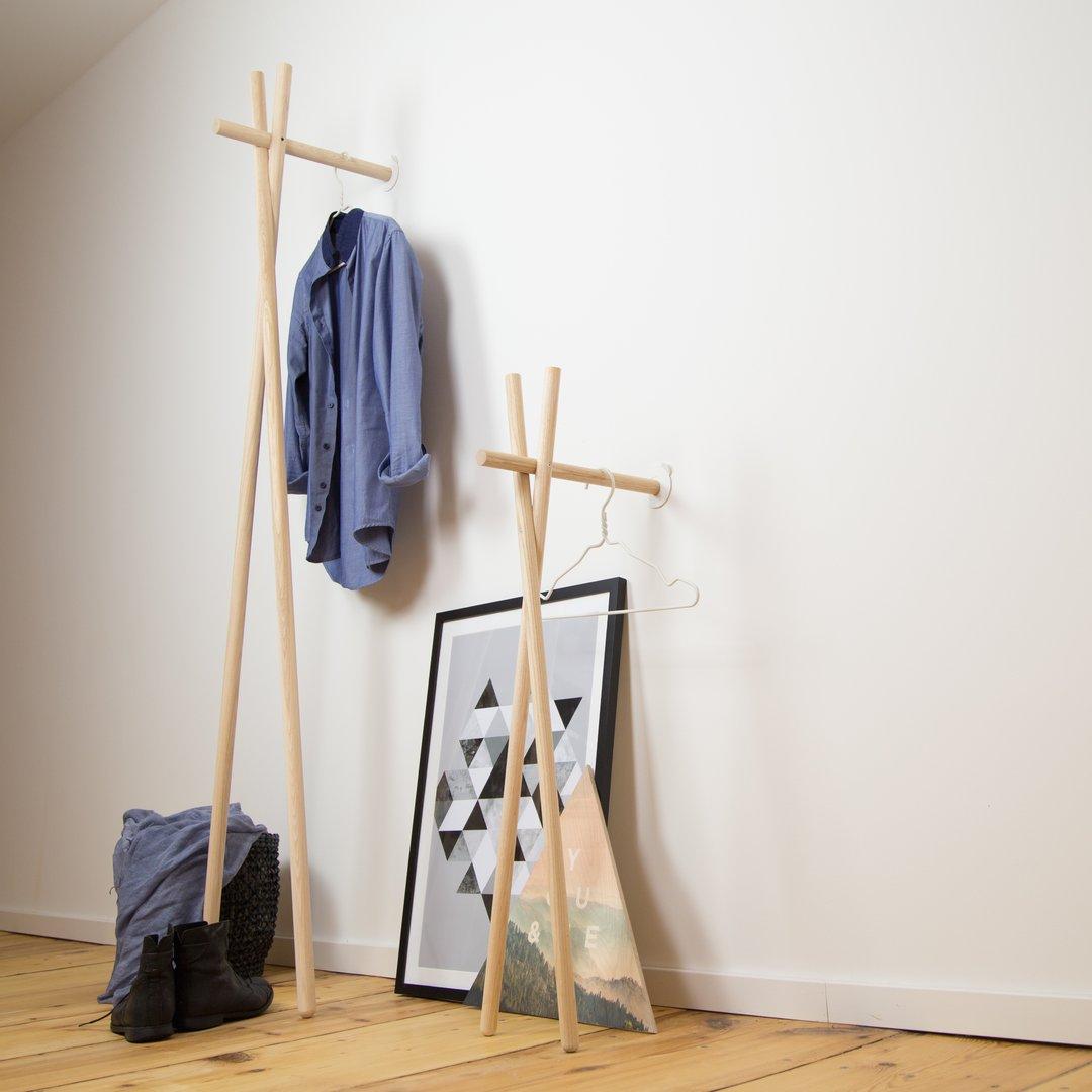 Lenah garderobe esche natur v kommodod neu bei freystil for Garderobe natur