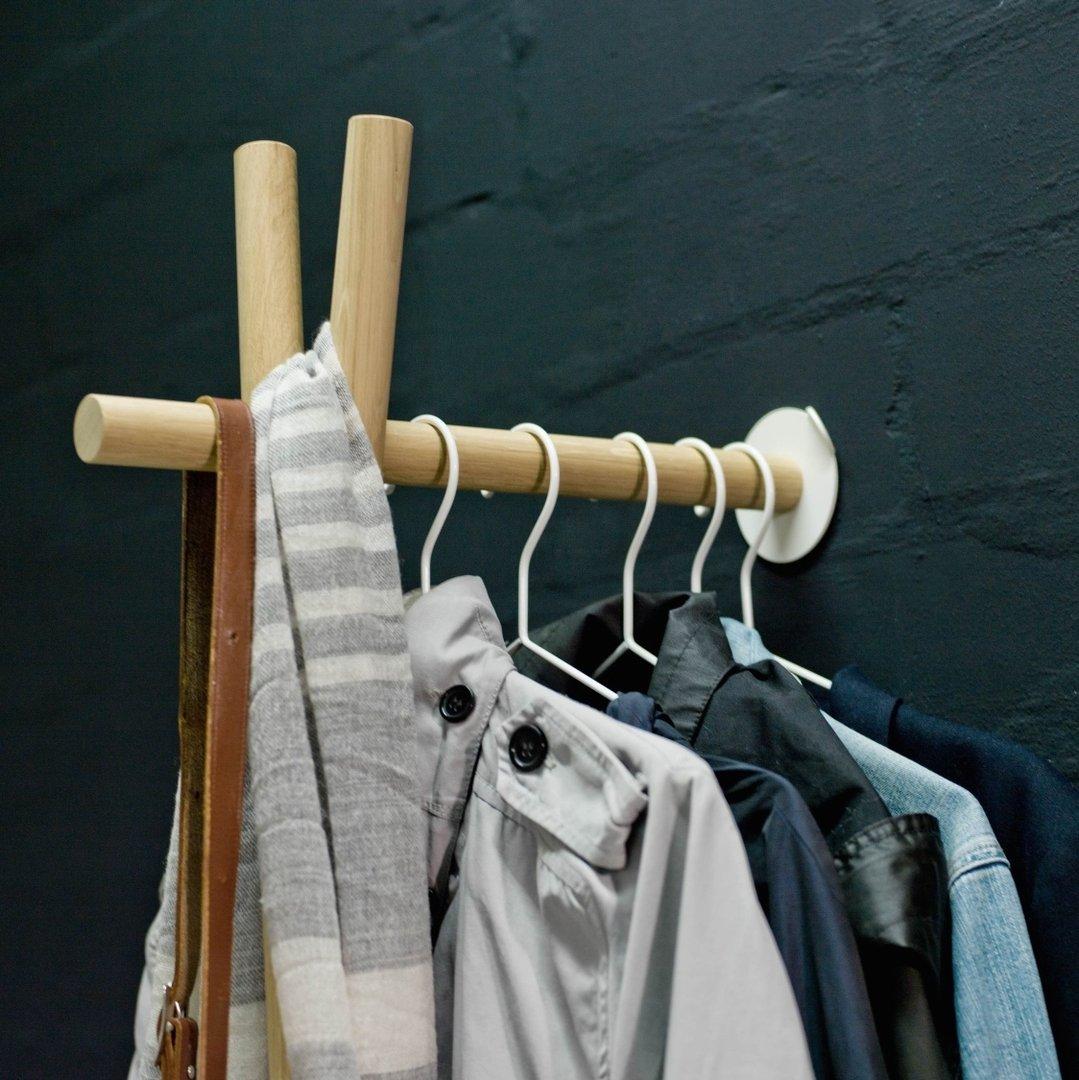 Lenah garderobe eiche natur v kommodod neu bei freystil for Garderobe natur