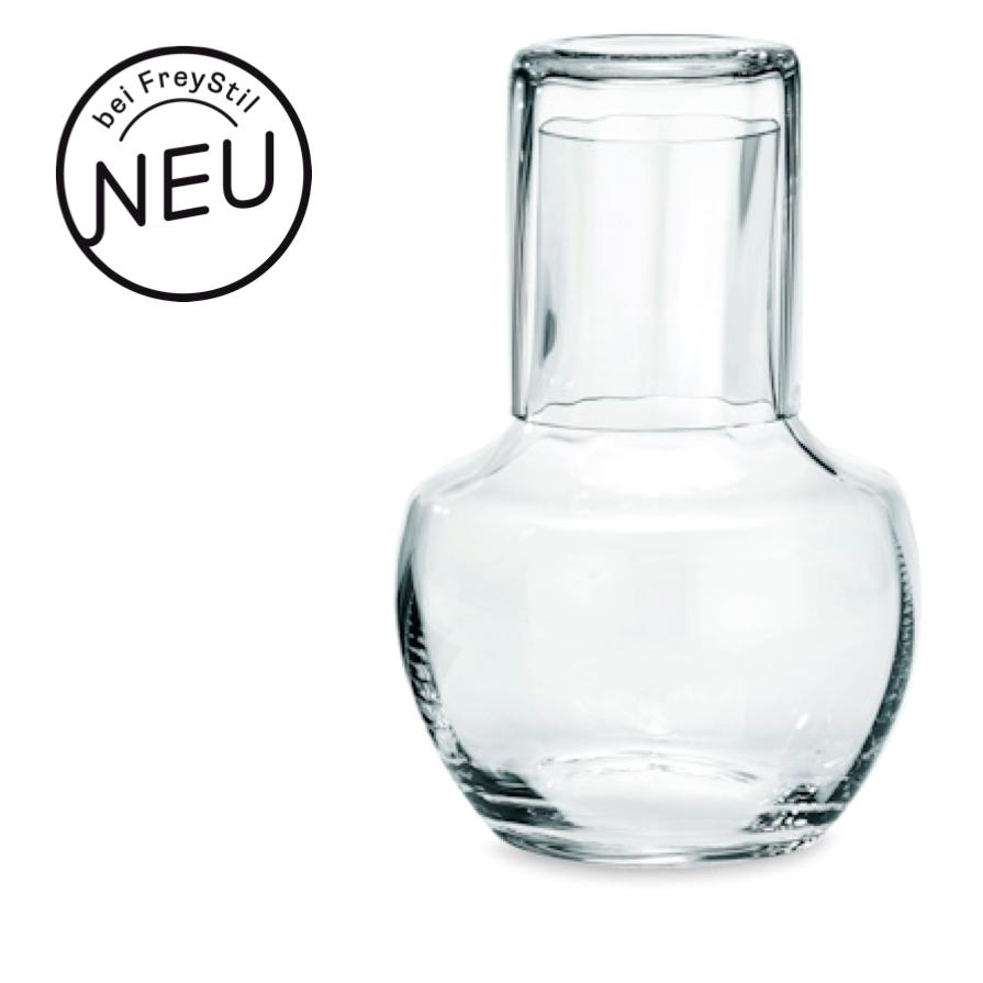 sturzflasche 6629 karaffe mit glas manufaktur von poschinger. Black Bedroom Furniture Sets. Home Design Ideas